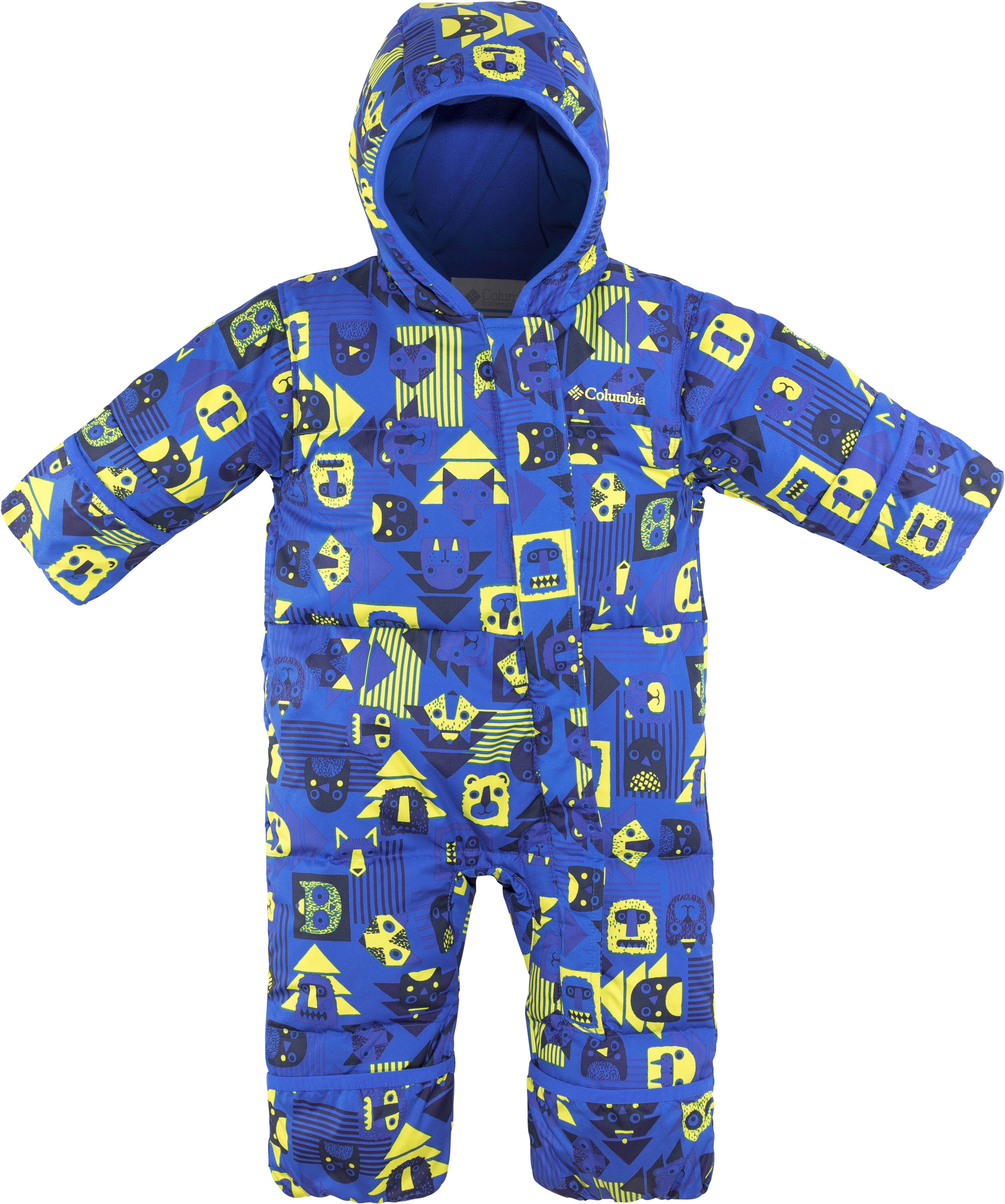 a365ba1ba Columbia Snuggly Bunny Bunting Suit Youths Super Blue Critter Super ...
